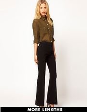 ASOS Kick Flare Trousers This whole outfit would be adorable on you!