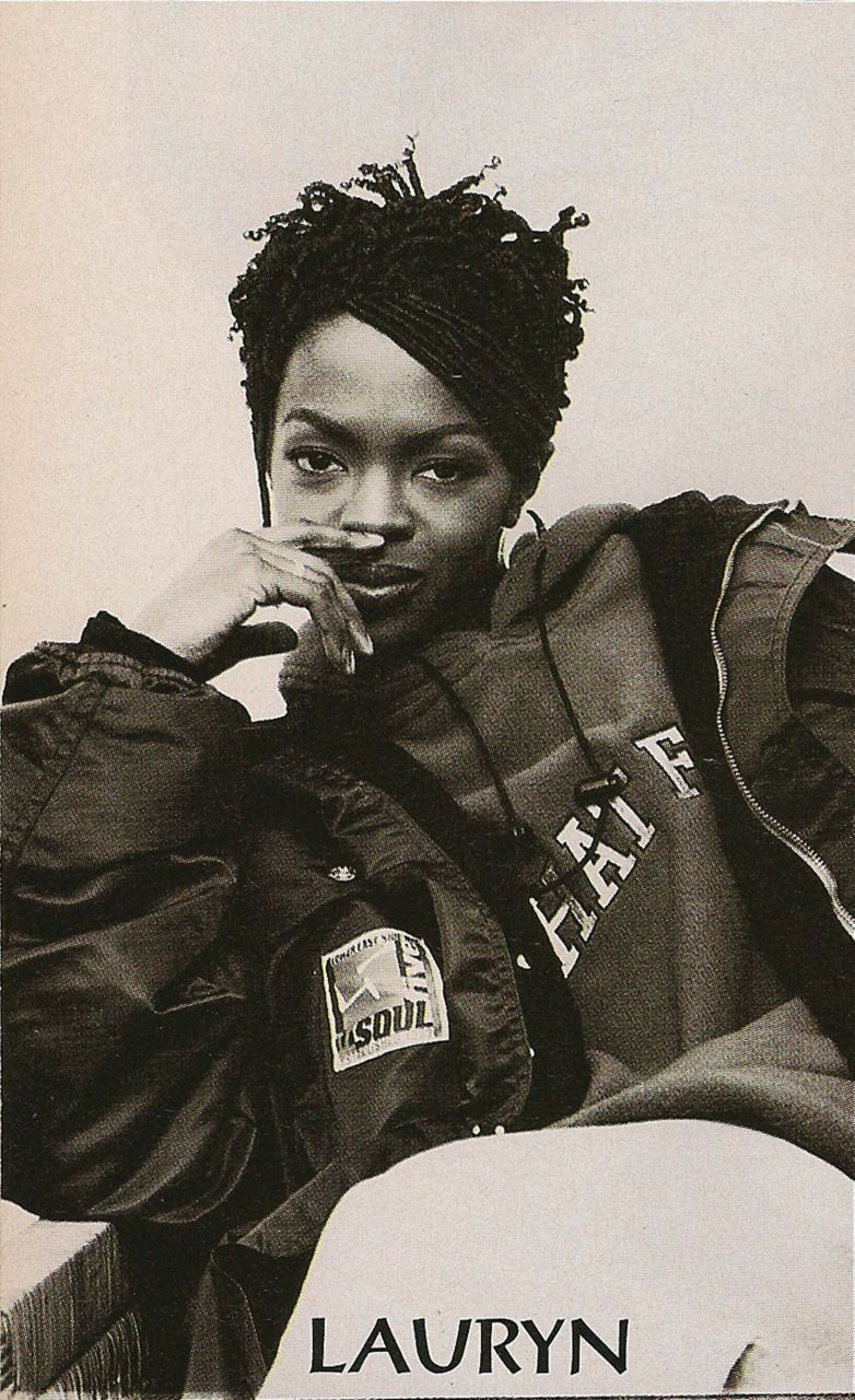 Lauryn Hill aka L-Boogie. straight form the FUGEES. one of the best female hip-hop artist! Last but not least, she sings beautifully.