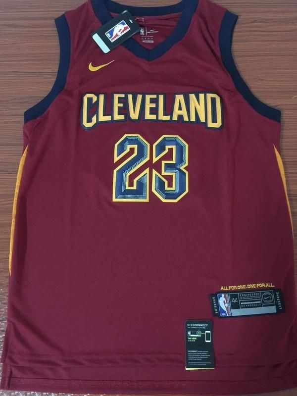 c7500cce4 Men s  23 Lebron James Jersey Red Cleveland Cavaliers jersey Throwback  Swingman