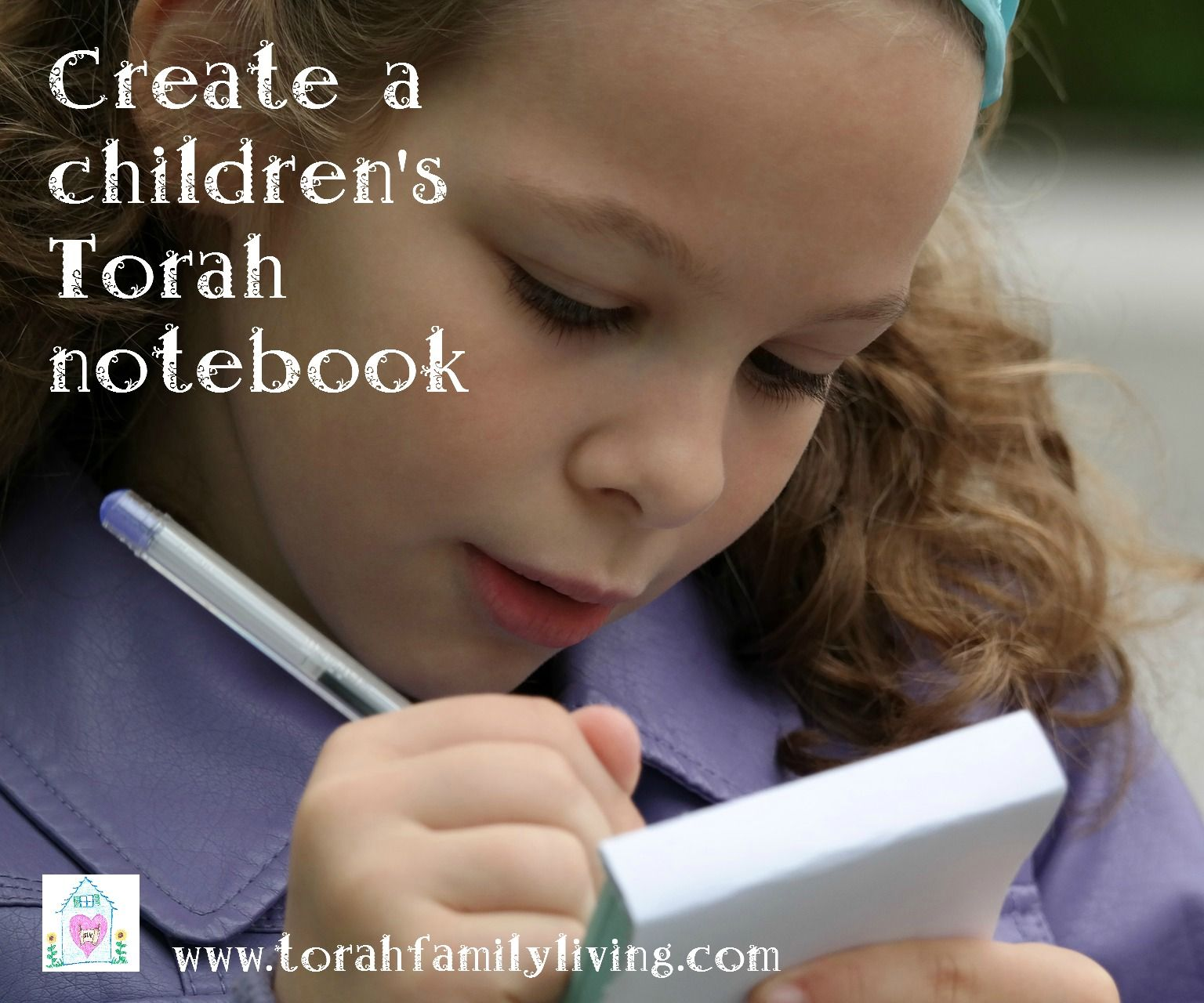 Create A Children S Torah Notebook