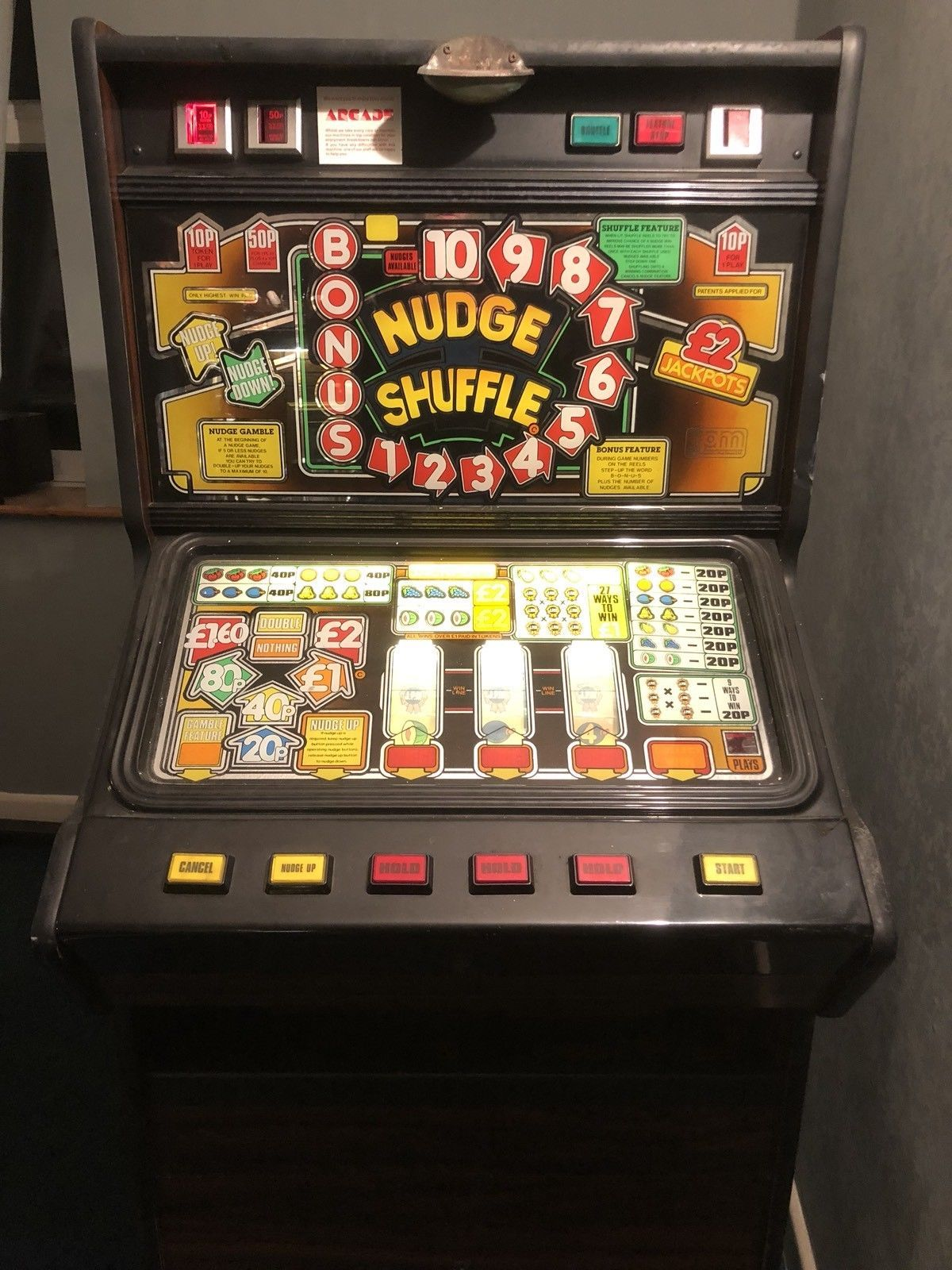 Tuppenny nudger fruit machine for sale near me