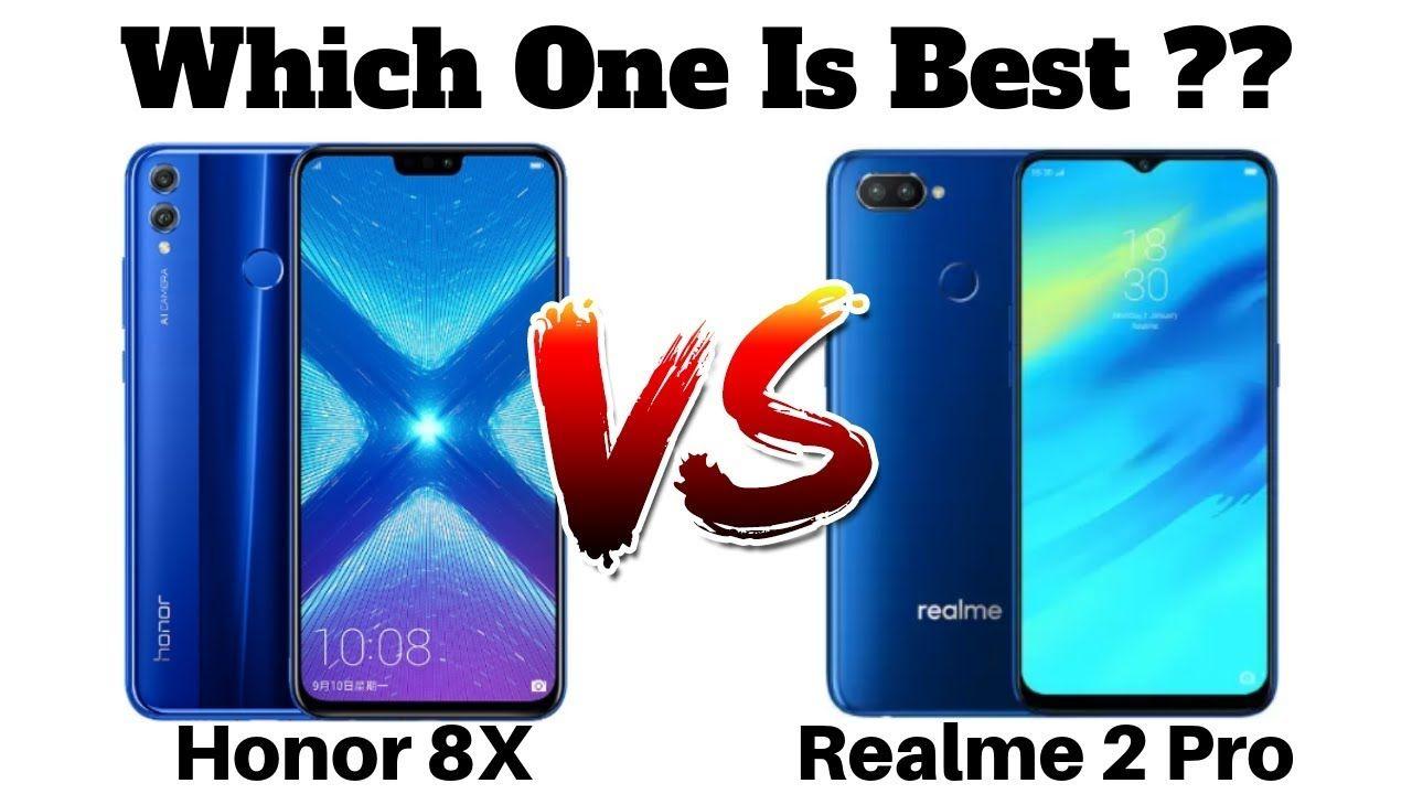 مقارنة بين هاتفي Realme 2 pro و Honor 8X | mobihall in 2019 | Phone