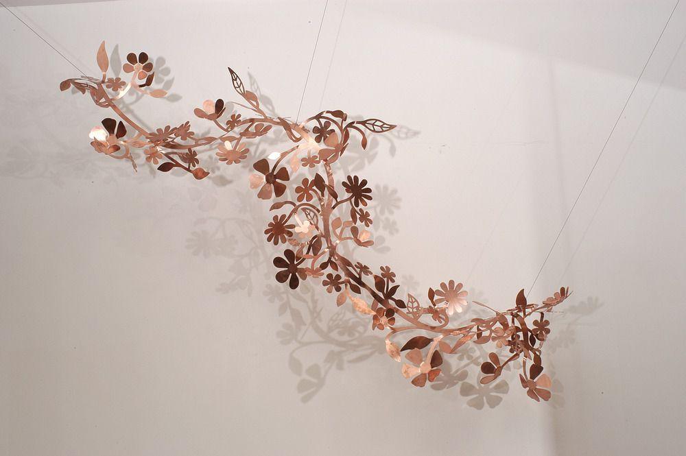 rose gold garland