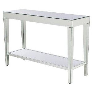 Charmant Mirrored Console Table : Target Mobile