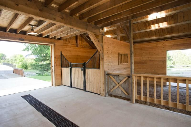 traditional great plains western horse barn project by sand creek post beam view this gallery for ideas on your next dream barn - Horse Barn Design Ideas