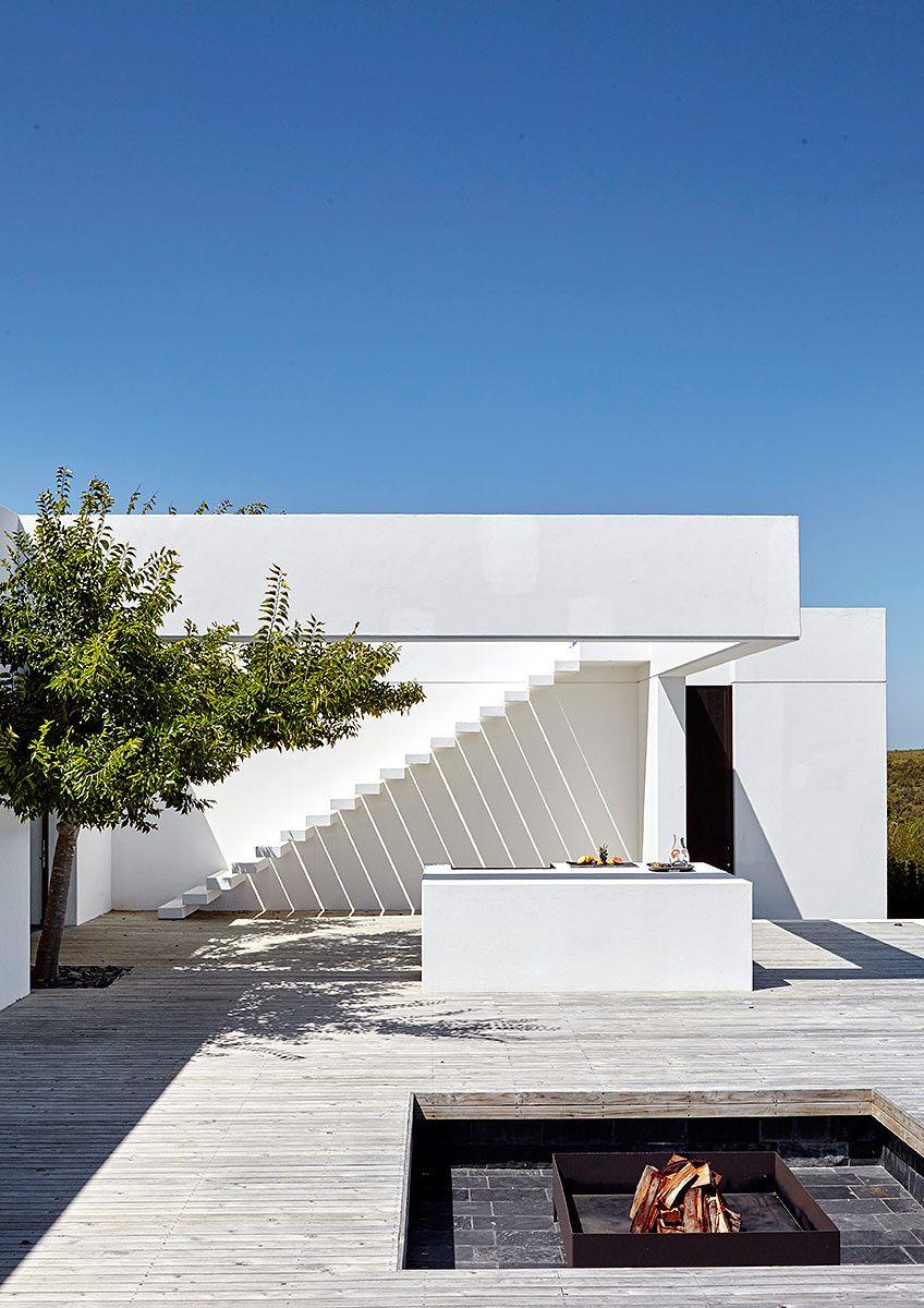 Arquitectura Casas Escaleras Exteriores Arquitectura: Arquitectura De Hormigón, Arquitectura Y Diseños De Casas