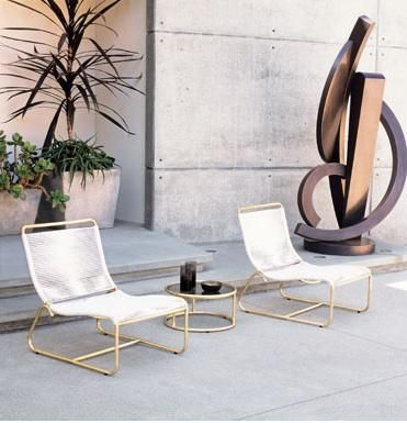 Outdoors: Walter Lamb Furniture At Gumpu0027s In SF