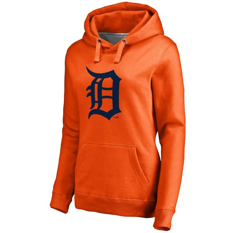 official photos 59569 a2f69 Detroit Tigers Women's Secondary Color Primary Logo Pullover ...