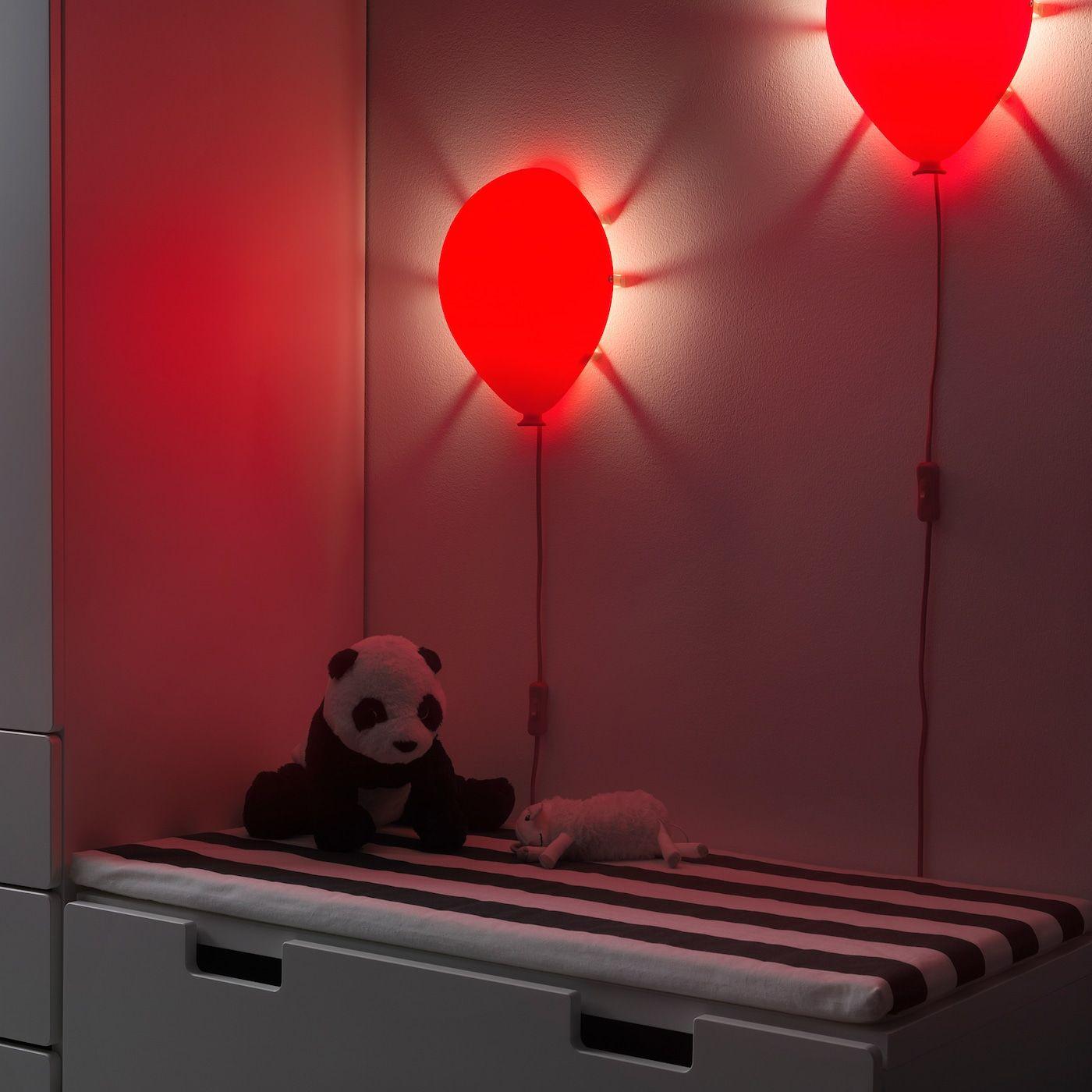 Ikea Dromminge Wandleuchte Ballonlichter Luftballon Lampe