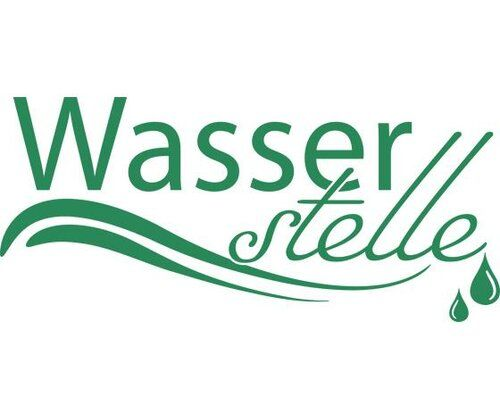 Wasserstelle, Drops Wall Sticker East Urban Home Colour: Green, Size: 100 cm H x 222 cm W
