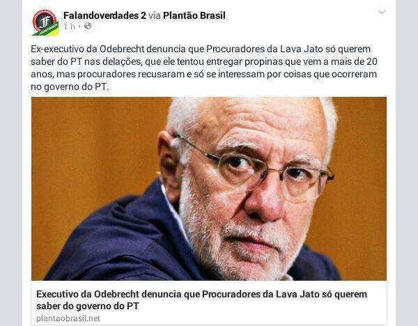 IRAM DE OLIVEIRA - opinião: Denúncia á Lavajato