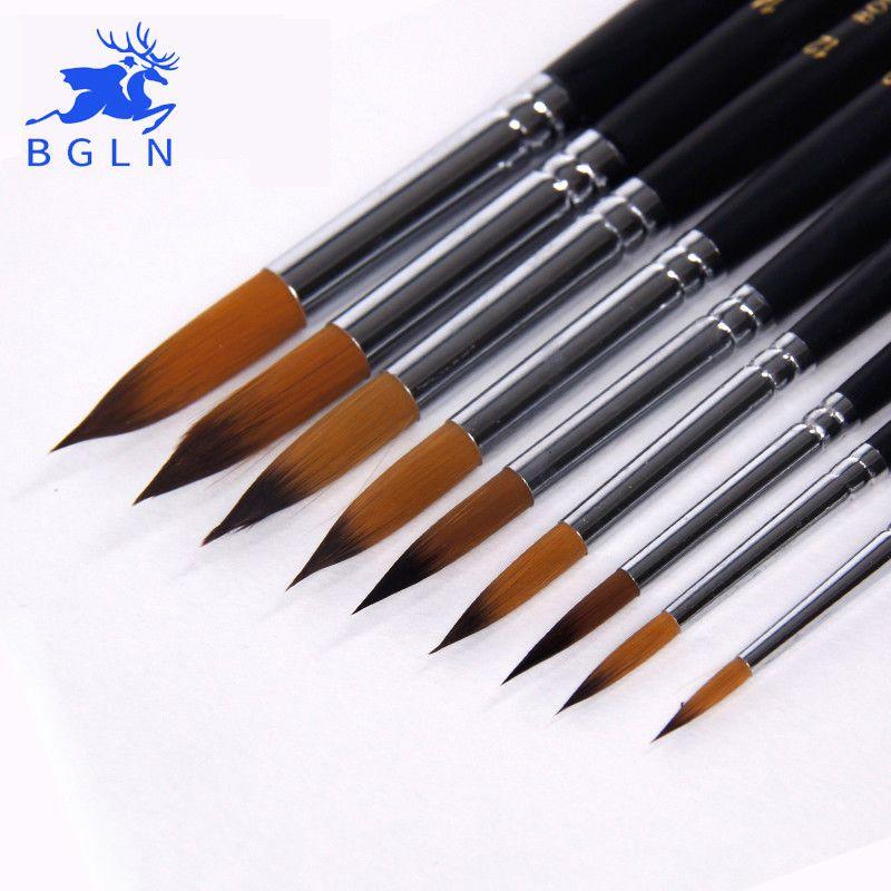 Oil Acrylic Watercolor Fine Art Set Of 15 Paint Brushes Best