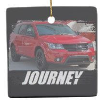 2013 Journey Blacktop Ceramic Ornament