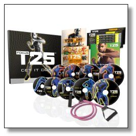 Shaun T's Focus T25 DVD workout is a solution for those who are already tired of all the extremely challenging dietary plans and workouts that are so difficult to do that more than half of the people leave them in the middle.