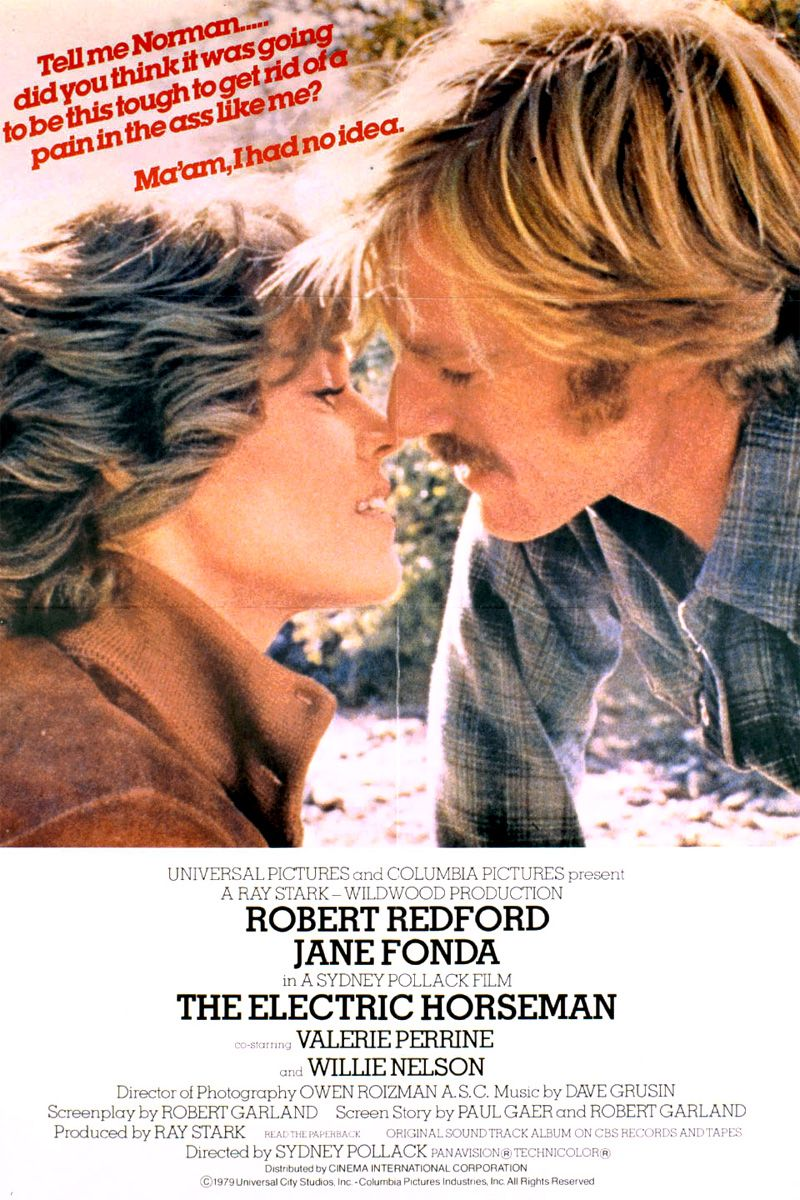 the electric horseman- (1979) - robert redford, jane fonda, valerie