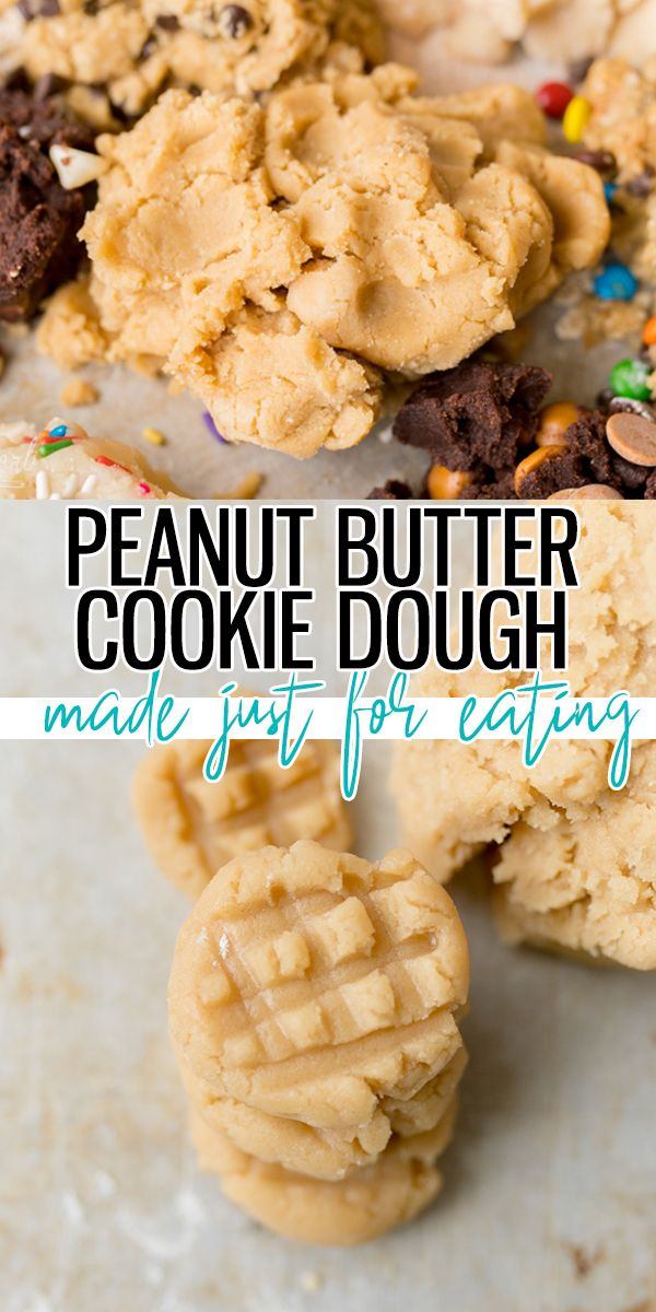 Peanut Butter Cookie Dough is egg-free, and made to eat! You can have a bite of delicious peanut butter cookie dough within minutes! |Cooking with Karli|