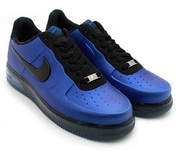 innovative design cbb3a 61072 Nike Foamposites Air Force 1s, my favorite pair of AF1s that compliment the  blue HTC One perfectly