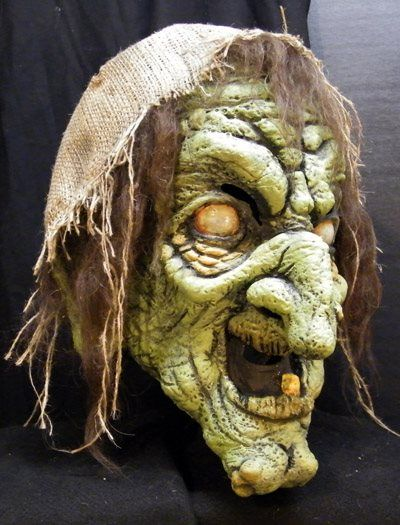 Hag witch mask   Scary witch, Halloween cat, Halloween ...