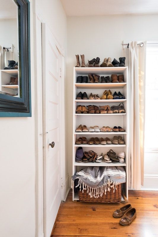 9 Ways to Organize a Bedroom With No (or Very Small) Closets home