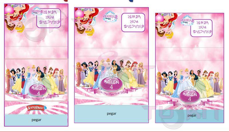 Candy Bar Princesas Disney Imprimible | candy | Pinterest ...