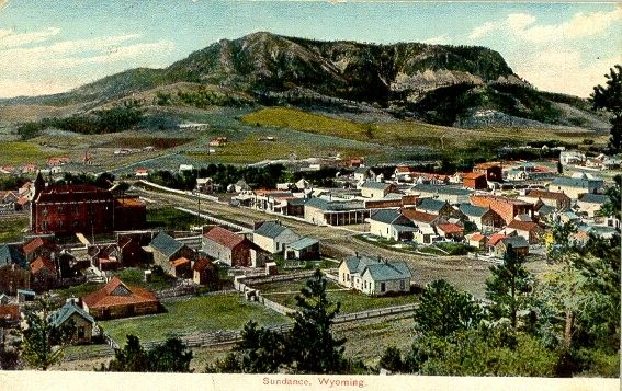 Sundance Wy 1907 Featured In My Book Love Finds You