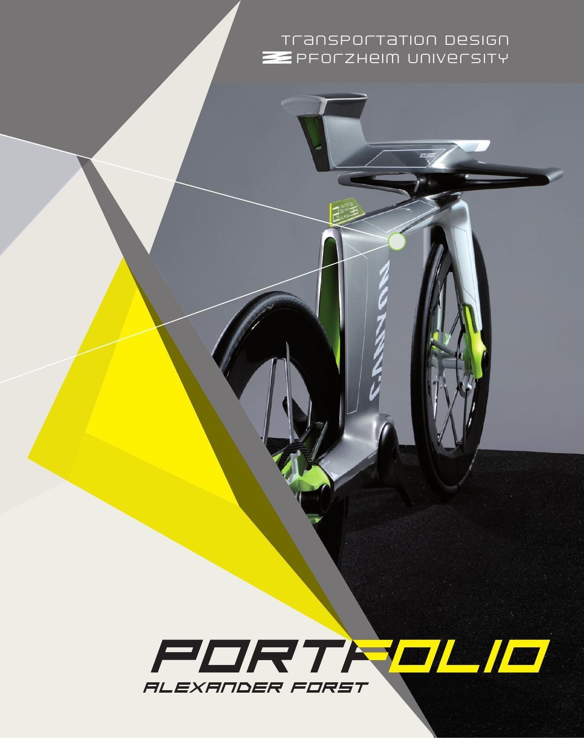 Portfolio Alexander Forst  Transportation Design HS Pforzheim