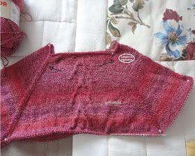 Cómo hacer un jersey con agujas circulares empezando por la parte dearriba.  Este método es bastante fácil. Tiene como ventajas que...