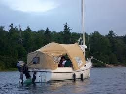 boom tent sailboat - Google Search & boom tent sailboat - Google Search | Boat ideas | Pinterest | Boating