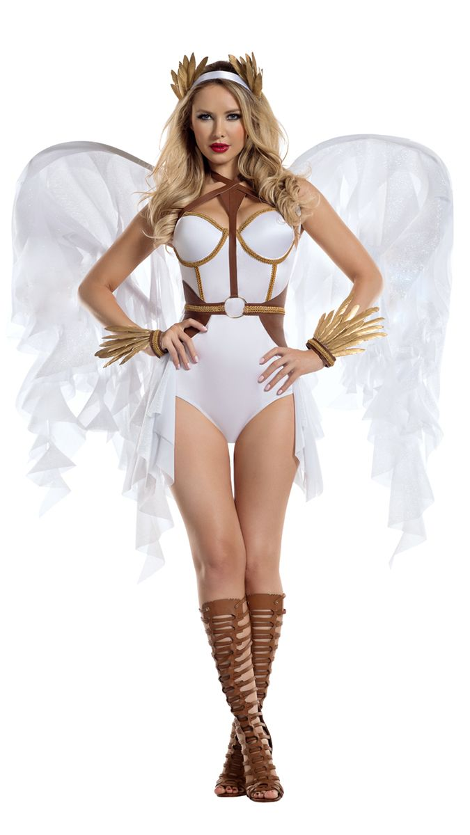 You'll turn heads in this super sexy diy victoria's secret angel halloween costume