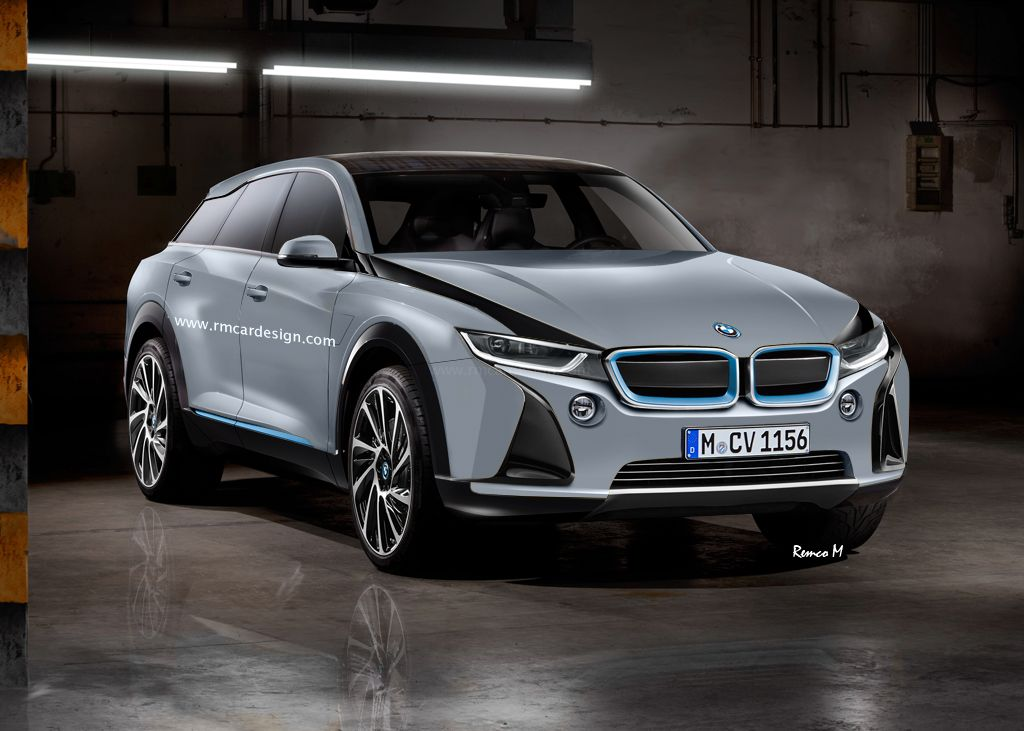 2017 Bmw I5 Redering By Rm Design Electric Suv Wants To Shock Tesla S Model X
