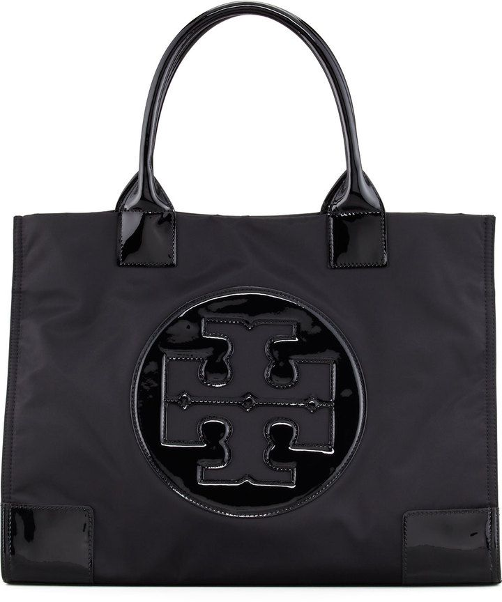 05a4e7b9aeac Tory Burch Ella Nylon Tote Bag - Have this and LOVE it for rainy days or  traveling!