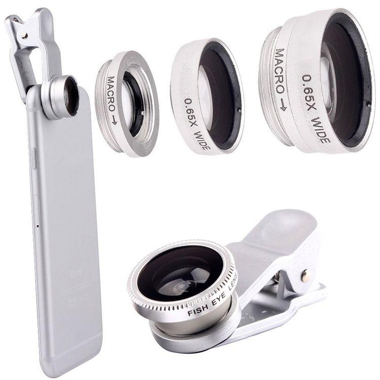 3in 1 Clip On Fish Eye Lens Telefon Komorkowy Aparat 180 Stopien Fisheye Lens Szeroki Kat Obiektyw Makro Dla Iph Phone Lens Phone Camera Lens Iphone Camera
