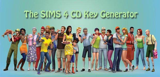 the sims 4 cd key generator free