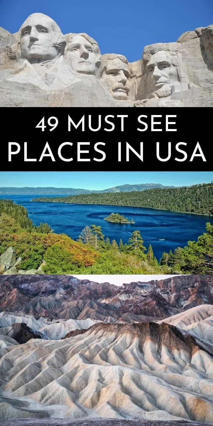 Pin on Places to visit This ultimate USA bucket li