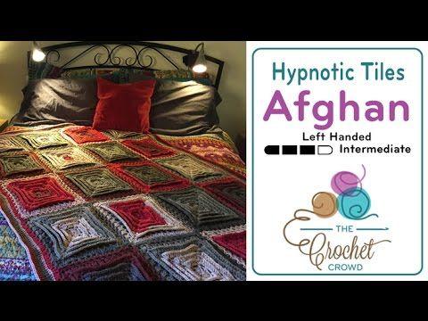 Hypnotic Tiles Afghan + Tutorial - The Crochet Crowd | Crochet ...