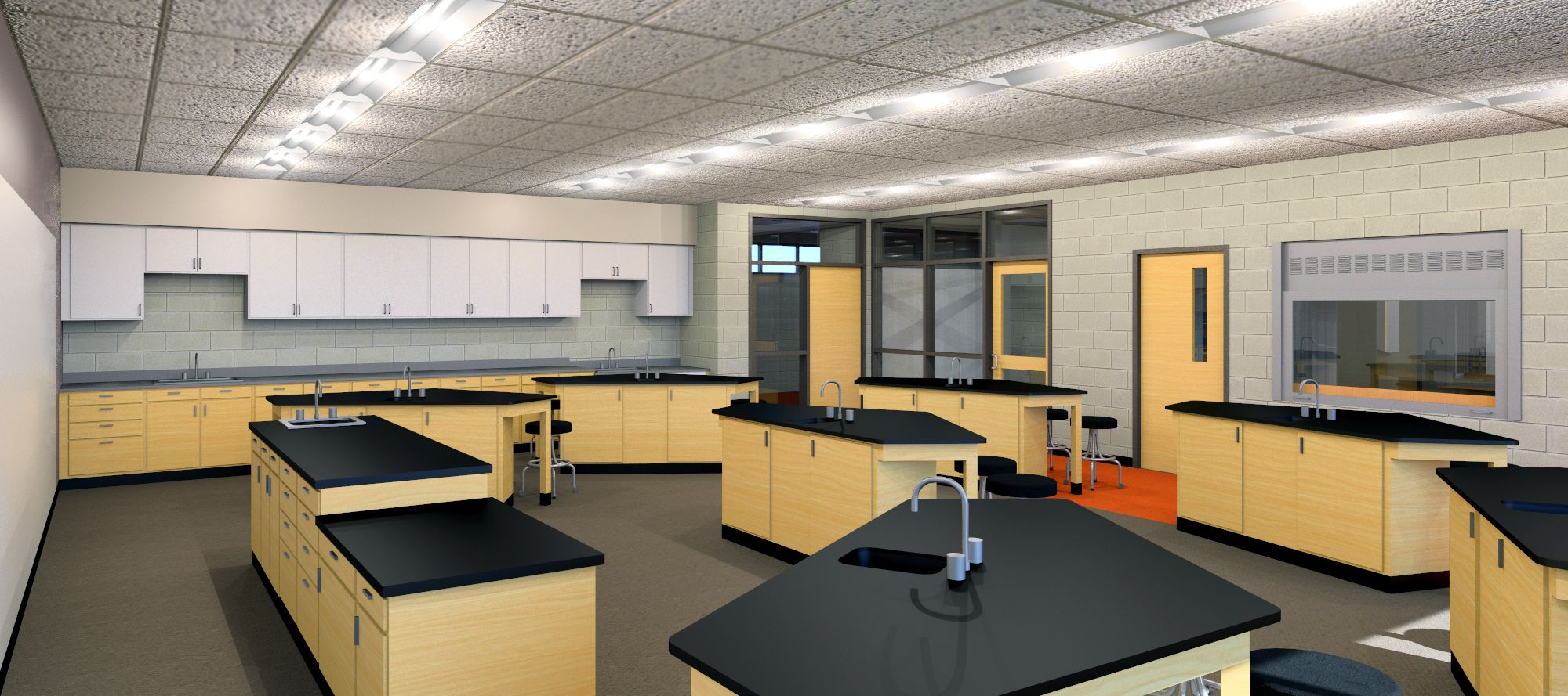 science classroom of the future - storage and unique ... High School Science Classroom