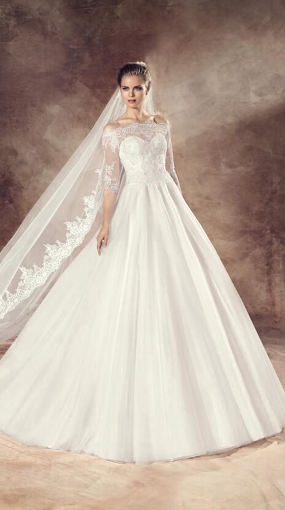 Avenue Diagonal Bridal Gown Style - URITH   Style Fashion ...