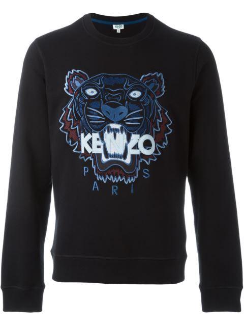 KENZO 'Tiger' Sweatshirt. #kenzo #cloth #sweatshirt