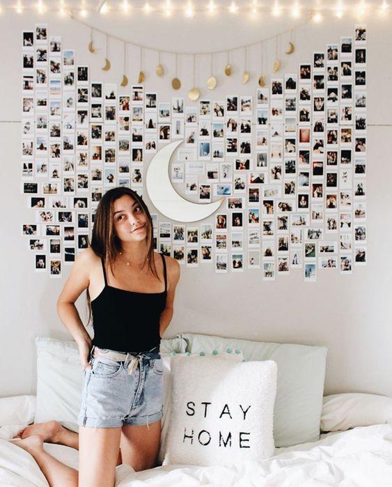 10 Tumblr Photo Wall Ideas Elegant Dorm Room Dorm Room Inspiration Dorm Room Decor