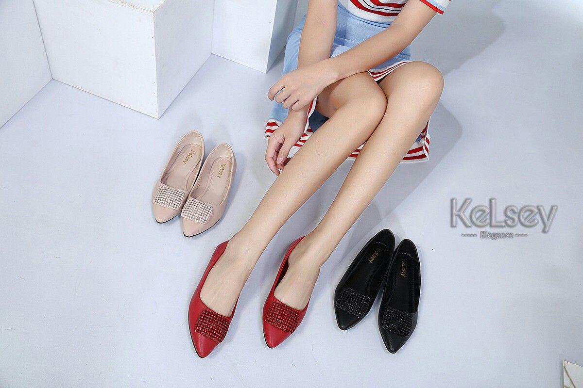 Sepatu Merek Kelsey M351 998 729k Flat Original Bahan Kulit