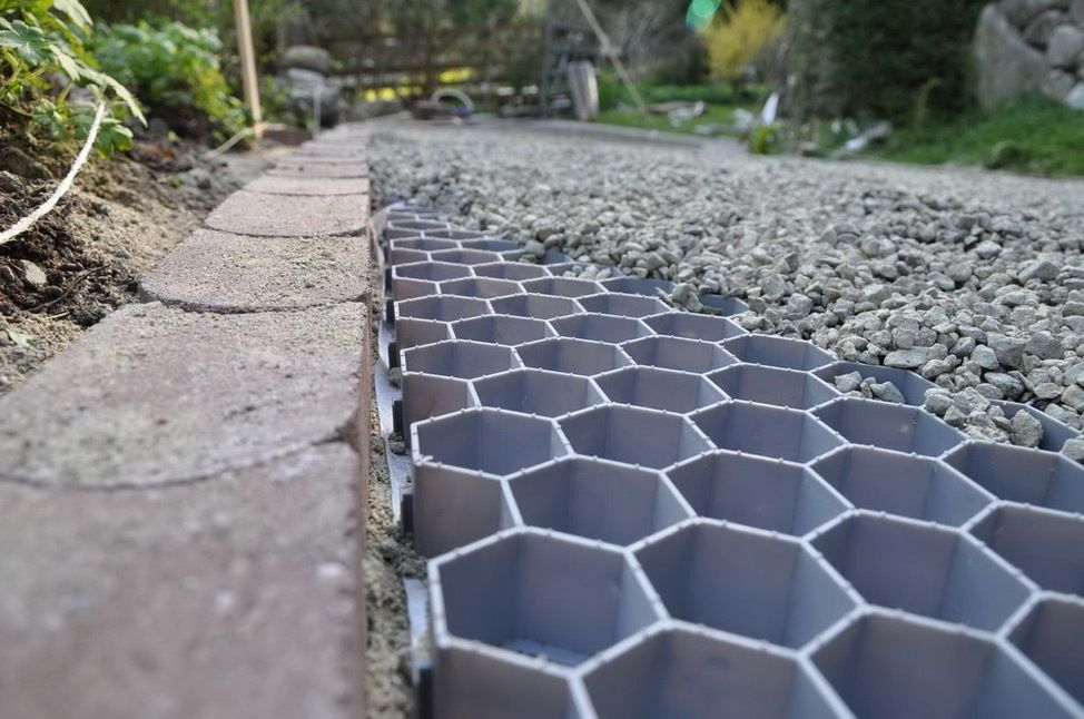 Driveway and pathway solution...CORE Systems offers permeable, green solutions for stabilized gravel driveways, turf reinforcement (grass driveways, grass parking lots as well as slope stabilization), decorative landscaping and durable composite pavers.
