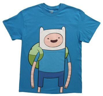 Great Large Finn for the Finn Fans on Adventure Time!  #Finn #adventure #adventuretime #tv #shows #shirt #shirts #t-shirt #t-shirts #funny #men #women