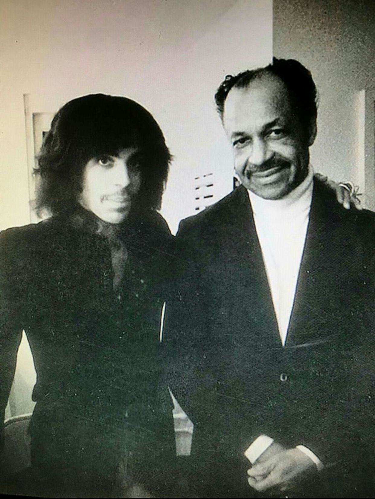 I love this pic. Prince with his dad, John L. Nelson. Their ...