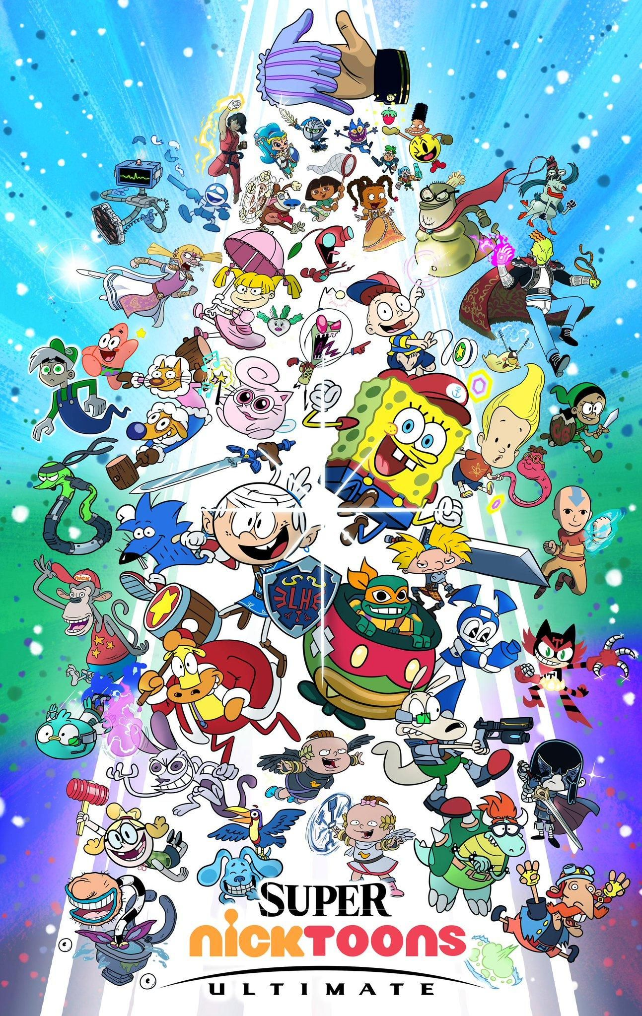 Super Nicktoons Ultimate Cartoon crossovers, Super smash