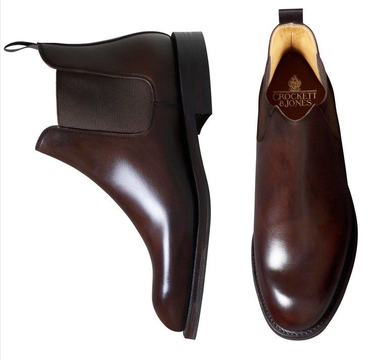71906f0c0f3 Crockett & Jones Chelsea 5 Boots – Dark Brown Calf | Crockett ...