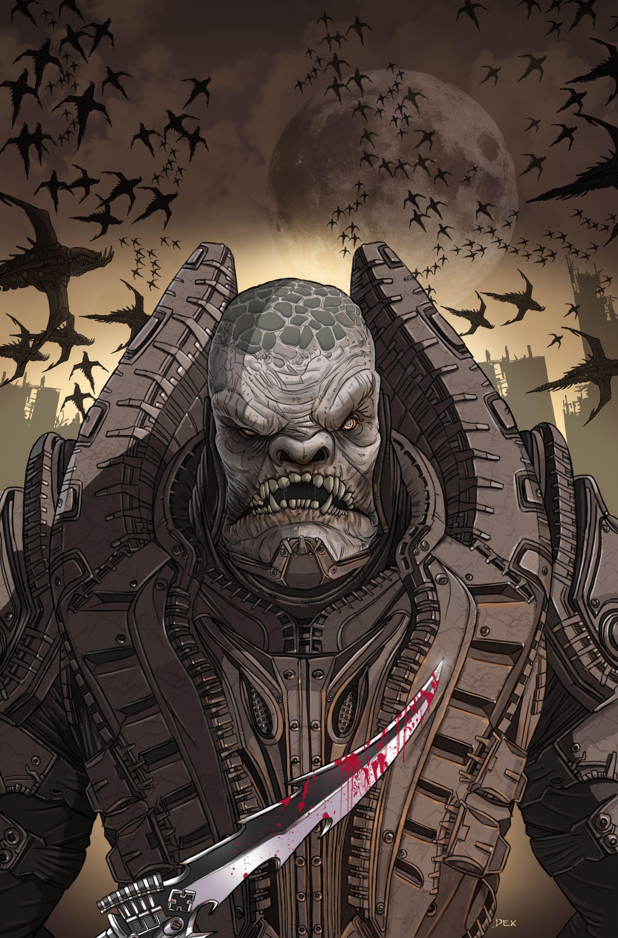 Pin De Mr Play Maker En Gears Of War Arte De Videojuegos Comics De Batman Guerreros
