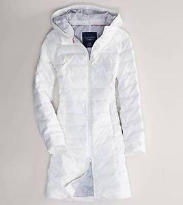 Nwt american eagle womens xxl 2xl white long down puffer jacket ...