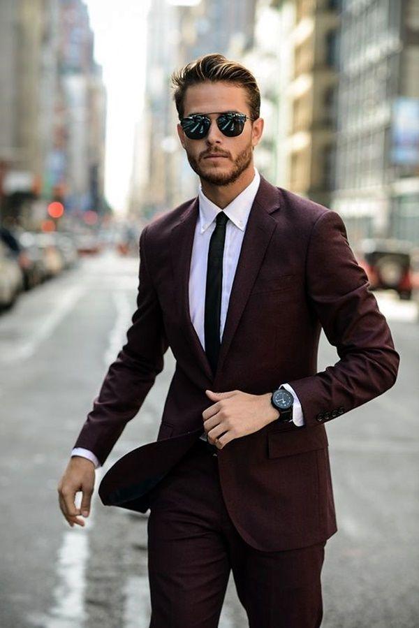 Top 10 Des Meilleurs Tenue Homme En Costume Costume Bordeaux Chemise Blanche Montre Vintage Luxe Cravat Homme En Costume Cravate Pour Homme Tenue Homme