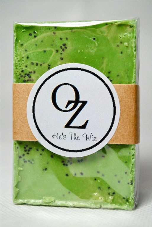 land of oz he s the wiz exfoliating bar 4 00 via etsy the wiz