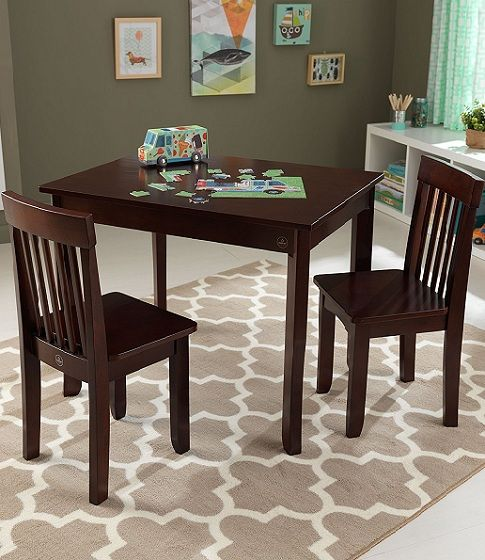 kidkraft farmhouse table and chair set espresso ergonomic gumtree kids play rooms